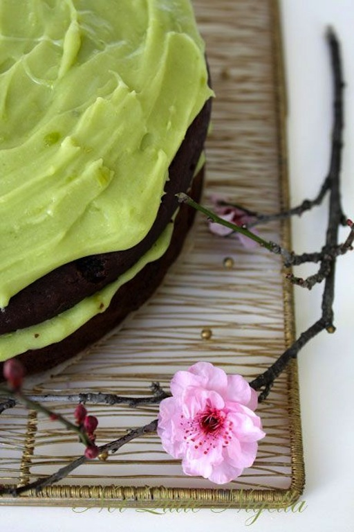 Chocolate & Avocado cake from Not Quite Nigella