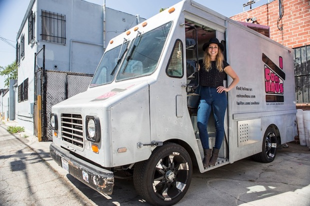 Natasha Case & Coolhaus truck Photo: Vito Nguyen for The Hundreds