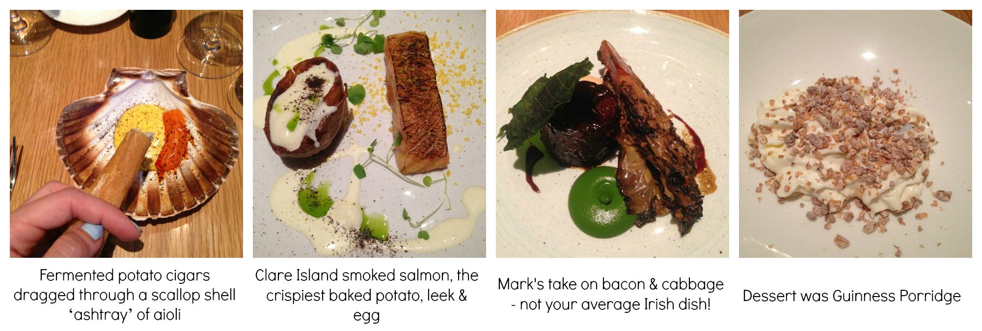 Mark Moriarty Dinner