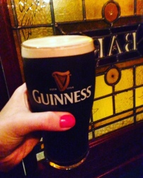 Guinness at O'Briens