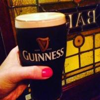 Guinness at O'Briens